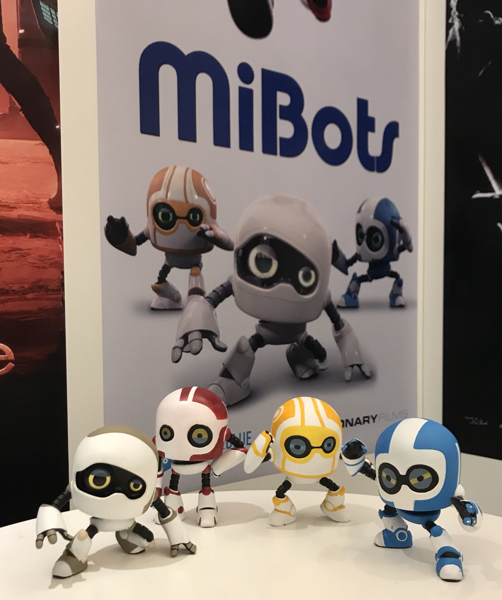 "Animated feature ""MiBots"" at the EFM in Berlin"