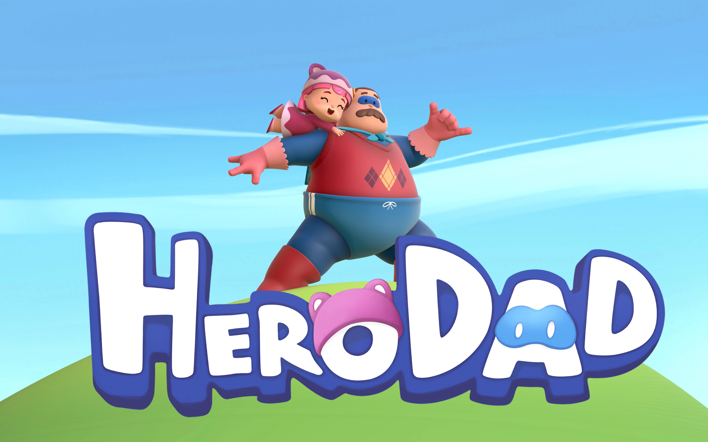 """Hero Dad"" one of the first real-time animated TV series produced with Unity"
